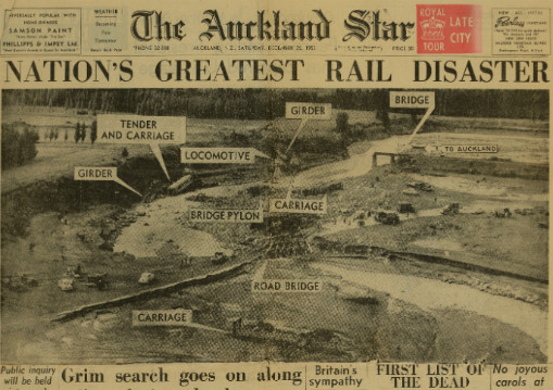 The Auckland Star 26 December 1953 by Archives New Zealand https://www.flickr.com/photos/archivesnz/11440054306