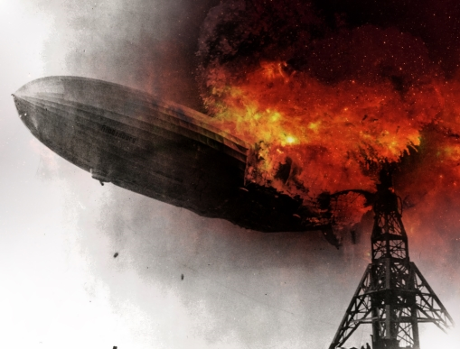 Used original on hindenburg image is public domain. Image manipulation by Flowa.